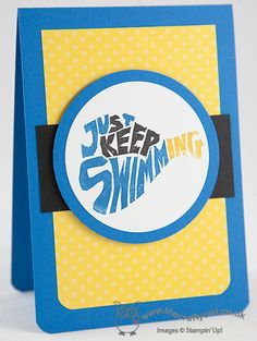 Undefined Take 1: In The Swim Stamp 4  Undefined: The Swim Stamp Set, Joanne James UK Stampin' Up! Independent Stampin' Up! Demonstrator, blog.thecarftyowl.co.uk