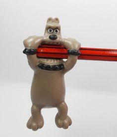 Wallace & Gromit - Preston - Mini Toy Figure - Aardman 1989 - Pencil Topper
