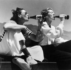 Toni Frissell, or Antoinette Frissell Bacon (1907-1988), was an American photographer known for her fashion photography, World War II photographs, portraits of famous Americans and Europeans, children, and women from all walks of life.