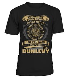 DUNLEVY - I Nerver Said