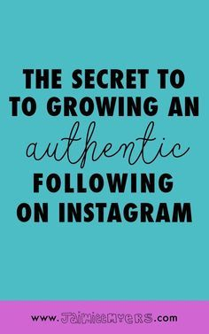 The Secret to Growing an Authentic Following on Instagram | Jaimie Myers | Want to get more followers on Instagram? The secret is out - it's through engagement! There are three places to start a conversation on Instagram small businesses and creatives might not already be including using hashtags! Grow your following and make more money using these easy tips! Click through to read or pin for later!