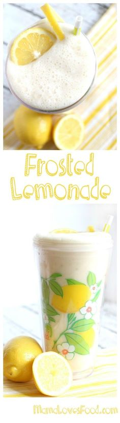 I love Frosted Lemonade! Like the kind I get at the theme park every summer..yummy! Awesome drink recipe, now I can make frosted lemonade just like they do..yay!