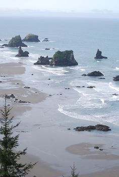 Highway 101 Viewpoint, Oregon