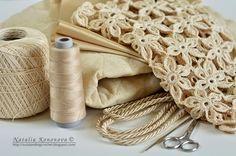 Beautiful Crochet Summer Tote Bag, With Free Pattern - http://theperfectdiy.com/beautiful-crochet-summer-tote-bag-with-free-pattern/ #Fashionbeauty