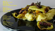 Roasted green peppers with olives and thyme, on simple potato puree  #vegetarian #vegan #dairyfree #glutenfree
