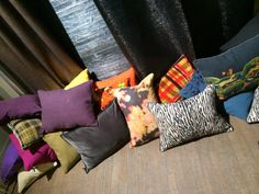 Paris Deco Off January 2014 | Elitis Cushion Collection