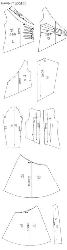 더블 싸임 웨이스트 샤링 드레스
