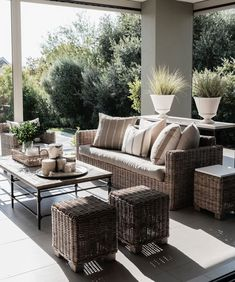 News and Trends from Best Interior Designers Arround the World Outdoor Furniture Sets, Decor, Furniture, Outdoor Decor, House Design, House, Best Interior, Interior Design, Rattan Furniture