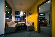 Irodablokk / Officies Corner Desk, Conference Room, Table, Furniture, Home Decor, Homes, Corner Table, Decoration Home, Room Decor
