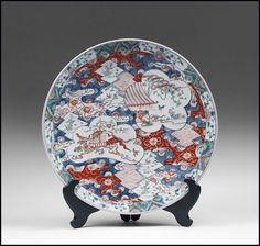 Imari charger, Edo period. 2,500 dollars