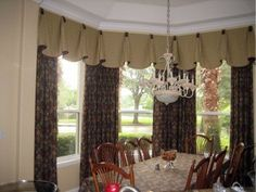 Treatments for Window Valance Styles | selection of custom window treatments - this treatment softens the ...