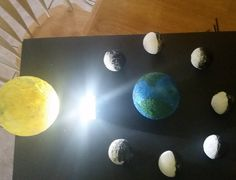 ideas painting moon earth for 2019 painting is part of Earth science projects - Science Project Models, Earth Science Projects, Earth And Space Science, Science For Kids, Moon Projects, Space Projects, School Projects, Moon Phase Project, Earth Sun And Moon