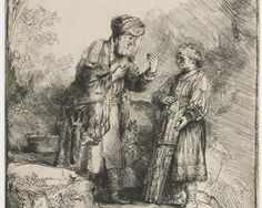 Abraham and Isaac - Rembrandt