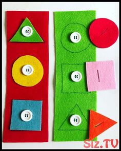 Preschool New activity for working with geometric figures and fine motor skills . - Preschool New activity to work with geometric figures and fine motor skills … – In the first mo - Motor Skills Activities, Preschool Learning Activities, Infant Activities, Preschool Activities, Kids Learning, Learning Games, Educational Activities, Fine Motor Skills, Toddler Crafts