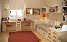 10 تصميمات خرافية لغرف نوم بمساحة للعمل يجب ان تتصفحها وتشاركها اصدقائك - لوكيشن ديزين . نت | ديكور , تصميم , اثاث