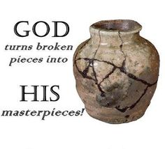 God is the ultimate recycler. He can take the trash of your life and recycle it into treasure. You have to bring to Jesus what is broken, and He can turn those pieces into masterpieces. How does He do that? He will do it with His power, if you will do your part in the recycling process.