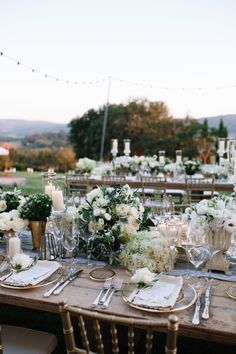 Classic + Romantic Destination Wedding in Tuscany – Style Me Pretty
