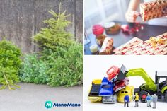 How to Recycle After Christmas - The Handy Mano Recycled Pallets, Wooden Pallets, 1001 Pallets, Outdoor Pallet Bar, Pallet Benches, Pallet Couch, Pallet Tables, Pallet Furniture, Outdoor Furniture