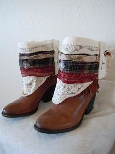 Marooned   Boho Accents, Ankle Art, Boho Boot Accents -  www.bohoaccents.com
