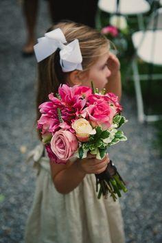 Big, bright bouquet