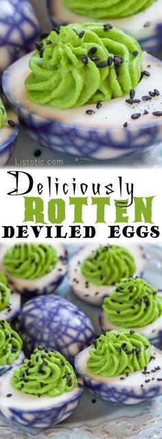 Deliciously Rotten Deviled Eggs