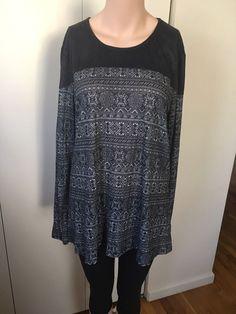 Womens Pretty Wine Tru Self Long Sleeve Hanky Hem Shirt Size Large XLarge NWT  | eBay