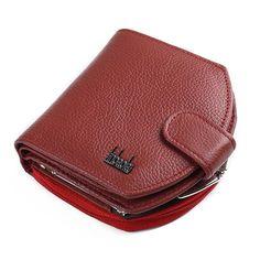 Curewe Kerien Men Long Wallets Simple Style Business Credit/ID Card Holder Billfold Purse Wallet