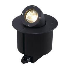 SLV 228365 GIMBLE OUT 90 ground luminaire, anthrazit, MR16, max, 35W, IP67, Aluminium, anthrazit, , ,