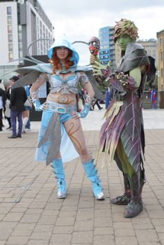 Guild Wars 2 Cosplay from MCM London Comic Con 2013. Cosplayers are Kitty Eley and Aaron Surtees. More of their work can be found at https://www.facebook.com/pages/K177Y-Cosplay/541652032541466