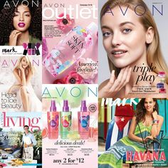 Kicking off Campaign 15. View all the brochures online at Avon quick link youravon.com/awright6142 #beauty #delivered #tofrontdoor