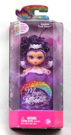*Barbie Fairytopia Magic of the Rainbow Rainbow Tooth Fairy Purple 2006