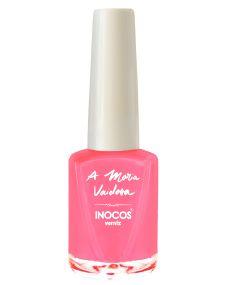 Verniz de Luxo - Verniz Inocos A Maria Vaidosa 9ml Rosa Neon