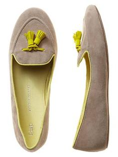 58a9a13f8f3 Gap Tassel loafers. cute n  simply comfy. Want  ) Tassel Loafers