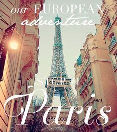 THIS is the reason I'm an entrepreneur… Paris is ALWAYS a good idea!