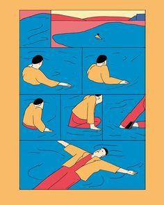 743 個讚,4 則留言 - Instagram 上的 María Medem(@mariamedem) Character Illustration, Graphic Illustration, Comic Layout, Abstract Images, Grafik Design, Art Sketchbook, Aesthetic Art, Book Design, Illustrations Posters