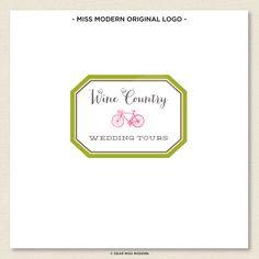 Wine Country Logo by Dear Miss Modern