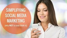 Social Media Marketing and promotion can be a bit difficult to navigate.  In other areas such as your website, you know you need to put some content up and take care of all of the other necessary