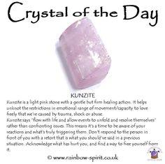 Crystal healing properties of Kunzite