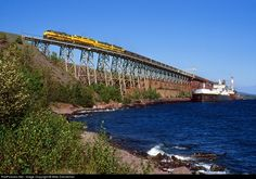 RailPictures.Net Photo: LTV 4213 LTV Steel Mining Company EMD F9(A) at Taconite Harbor, Minnesota by Mike Danneman