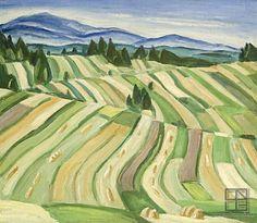 Ernerst Zmeták - Rabča Heart Of Europe, Nature Drawing, Art History, Fields, Folk Art, Milan, Vineyard, Country, Drawings