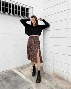 Indie Outfits, Retro Outfits, Cute Casual Outfits, Boho Outfits, Fall Outfits, Fashion Outfits, Party Fashion, Fashion Shoes, Fashion Jewelry
