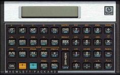 "The HP-15C Calculator Scientific Calculator was an RPN (Reverse Polish Notation) calculator that was popular with engineers back in the '80s, and it was manufactured from 1981 through 1989.  It was a programmable calculator that had built-in support for complex numbers, matrix math, numeric integration, and root solving.  It's small size (5"" x 3.15"") allowed it to be carried in a shirt pocket."