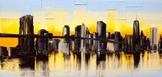 New York skyline Joëlle Blouin - Artist - Portfolio