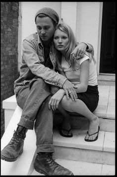 Johnny Depp and Kate Moss, New York, 1995. © Paul McCartney. Photographer: Linda McCartney. ***cg