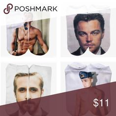 Sexxxay Man Socks Price is for one. They are all listed separately as well if you want to bundle for a discount. Leonardo DiCaprio, Channing Tatum, Ryan Gosling, Justin Bieber. Choose your man at checkout. This is probably the closest we will get to having any of them on our body Accessories Hosiery & Socks