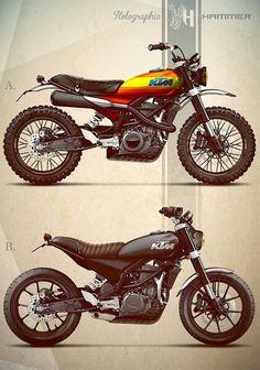 KTM Duke 390 Custom
