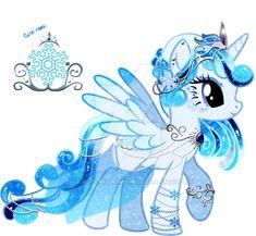 Snow Princess Adoptable CLOSED by YukiAdoptablesPonies on DeviantArt