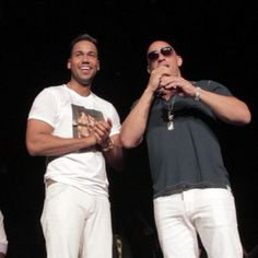 """Vin Diesel made the announcement on stage at a Romeo Santos concert because, obviously. 
