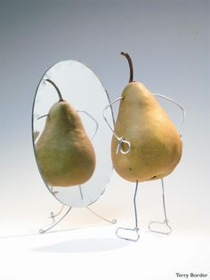 'Does this mirror make me look exceptionally pear shaped'?
