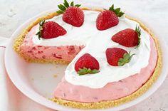 Tarte onctueuse aux fraises recette